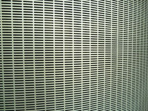 Metal air grill. Close up of air conditioner grill Stock Photography
