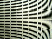 Metal air grill. Close up of air conditioner grill Royalty Free Stock Photos