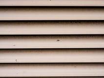 Metal air ventilation. Royalty Free Stock Photos
