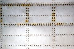 Metal aircraft Stock Photo