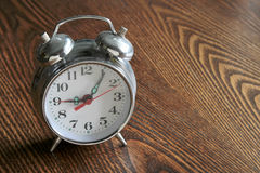 The metal alarm clock, Stock Image