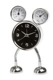 Metal alarm-clock Royalty Free Stock Photo