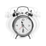 Metal alarm clock Royalty Free Stock Photos