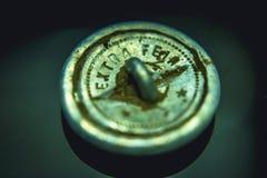 Metal alemão das relíquias da guerra da recordação da segunda guerra mundial que detecta a guerra mundial 2 dos achados Imagem de Stock