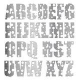 Metal Alphabet Stock Image