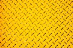 Metal amarillo Fotos de archivo libres de regalías
