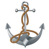 Metal Anchor Royalty Free Stock Photography