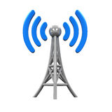 Metal Antenna Symbol Stock Photo
