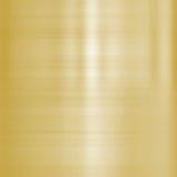 Metal aplicado con brocha multa del oro Fotos de archivo libres de regalías