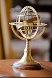Metal armillary sphere Stock Photos