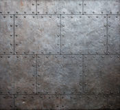 Metal armor plates background Stock Photos