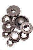 Metal as engrenagens foto de stock