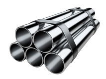 Metal as tubulações Fotos de Stock Royalty Free