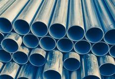 Metal as tubulações Foto de Stock