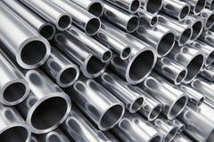 Metal as tubulações ilustração royalty free