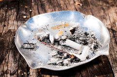 Metal ashtray Stock Photos