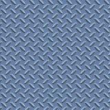 Metal azul da placa do diamante ilustração royalty free