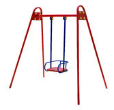 Metal baby swing Stock Photography