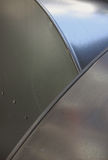 Metal Background 1. Metal background divided by curves Stock Image