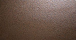Metal Background. Background of brown metal list Stock Images