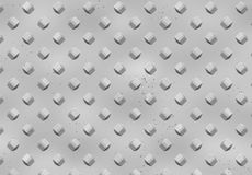 Metal background. With elements 3D with visible corrosion Stock Illustration