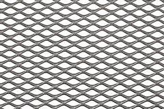Metal background. Metal diamond board background isolated on white Stock Images