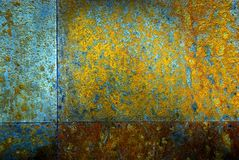Metal background. Grunge background of the metal Royalty Free Stock Photos