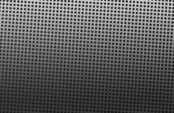 Metal background abstract with back holes Royalty Free Stock Photo