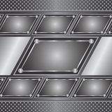Metal background Stock Photography