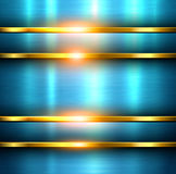 Metal background blue texture Royalty Free Stock Image