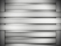 Metal background of brushed steel plate with reflections Stock Photo