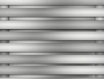 Metal background of brushed steel plate with reflections Royalty Free Stock Photography