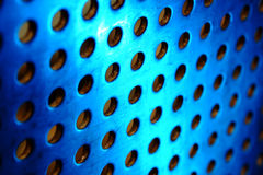 Metal background with circles Royalty Free Stock Images