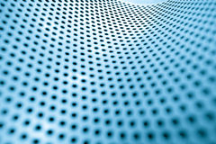 Metal background with circles Stock Photo