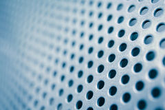Metal background with circles Royalty Free Stock Photos