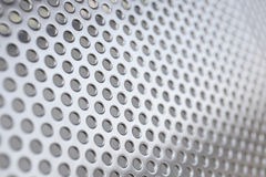 Metal background with circles Stock Photography