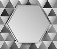 Metal background diamonds Royalty Free Stock Images