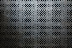 Metal background dot pattern old royalty free stock photography