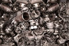 Free Metal Background From Old Details From Machines Royalty Free Stock Images - 119803889