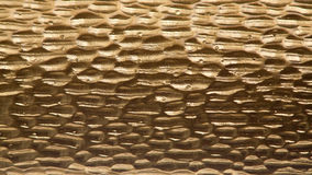 Metal background, gold color Royalty Free Stock Photos