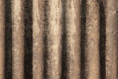 Metal background. Grunge metal background - retro style grungy corrugated steel tin texture stock images