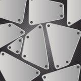 Metal background  illustration Stock Images