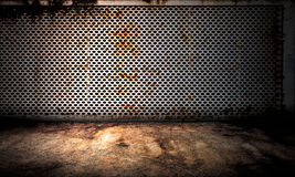 Metal Background Interior Stage Royalty Free Stock Images