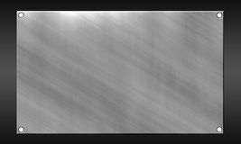 Metal background. The background is a large sheet of aluminum Stock Photo