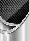 Metal Background with Metal Grid Royalty Free Stock Images