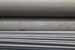 Metal Background - rolled product  Stock Photos Royalty Free Stock Photography