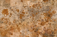 Metal background with rusty corrosion seamlessly tileable Stock Photography