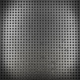 Metal background with seamless circle (3d render) Stock Photos