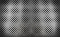 Metal background with seamless circle (3d render) Royalty Free Stock Photo