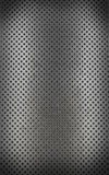 Metal background with seamless circle (3d render) Royalty Free Stock Image
